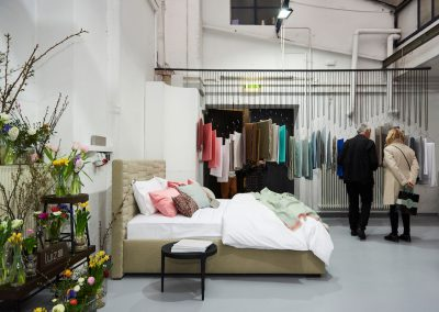 Pop-Up-Showroom von Luiz in den Goldberg Studios – Münchner Stoff Frühling 2018