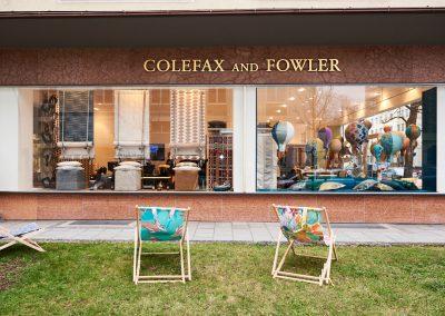 Der Showroom von Colefax & Fowler – Münchner Stoff Frühling 2018