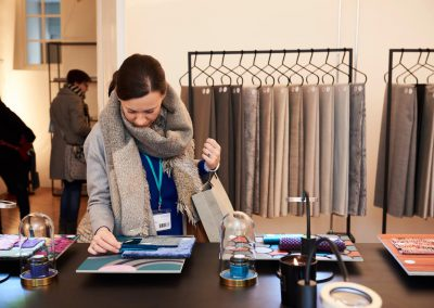 Textile Trendshow beim Münchner Stoff Frühling 2018