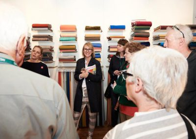 Guided Tour mit Anita Güpping, hier bei Kvadrat