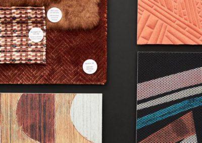 Textile Collage von Designer Pascal Walter