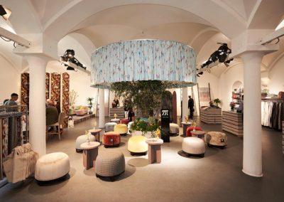 Pop-Up-Showroom von Zimmer + Rohde auf der Praterinsel