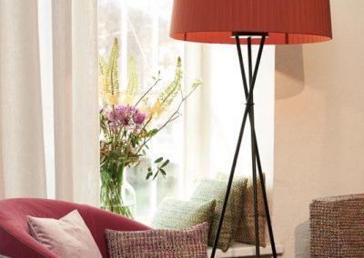 Gemütliche Sitzecke bei Zimmer + Rohde