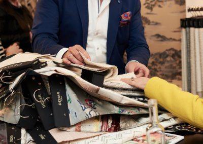 Auf Tuchfühlung mit den neuen Textilkollektionen