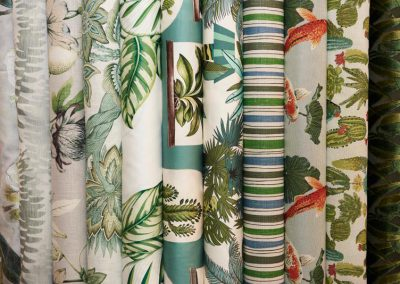 Details der textilen Trend Show von Pascal Walter