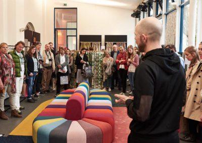 Designer Pascal Walter führt durch seine Trend Show