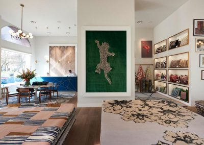 Im Showroom von The Rug Company