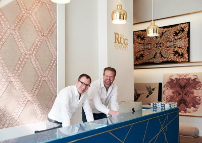 Showroom von The Rug Company