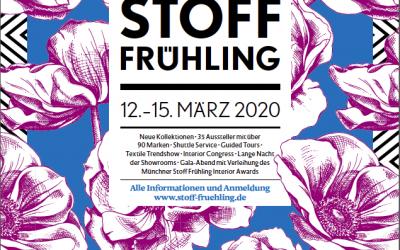 Die neue Werbekampagne des Stoff Frühlings!